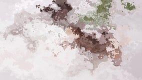 Lebhaftes funkelndes beflecktes helles weiches malvenfarbenes rosa beige Videograu der nahtlosen Schleife des Hintergrundes der Z stock footage