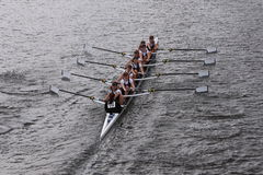 LEBHC  races in the Head of Charles Regatta Women's Youth Eights Stock Images