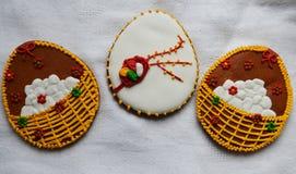 Lebkuchen auf Ostern Lizenzfreie Stockbilder