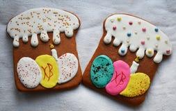 Lebkuchen auf Ostern Lizenzfreie Stockfotos