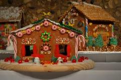 Lebkuchen-Häuser Stockfotografie
