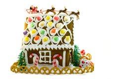 Lebkuchen-Haus Stockbild