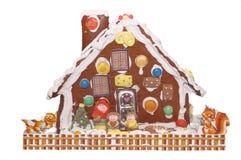 Lebkuchen-Haus Stockfotos