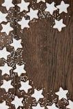 Lebkuchen-Kekse Lizenzfreies Stockbild