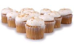Lebkuchen-kleine Kuchen Lizenzfreies Stockfoto