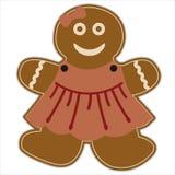 Lebkuchen-Mädchen Stockfoto
