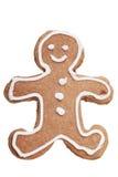 Lebkuchen-Mann-Weihnachtsplätzchen. Lizenzfreies Stockfoto