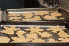 Lebkuchen-Plätzchen Stockfotografie