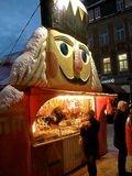 Lebkuchen Stand in Annaberg Stock Images