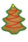Lebkuchen-Weihnachtsbaum Lizenzfreie Stockbilder