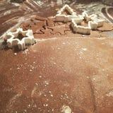 Lebkuchenbacken stockfoto