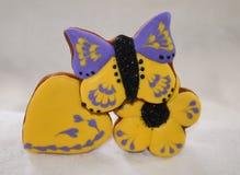 Lebkuchenblumenstrauß Stockfoto