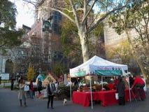 Lebkuchenhausknall-oben in Lebensgröße in Madison Square Park Stockbild