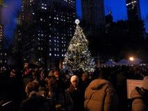 Lebkuchenhausknall-oben in Lebensgröße in Madison Square Park Stockfotografie
