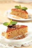 Lebkuchenkuchen Lizenzfreie Stockbilder