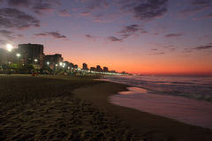 Leblon-Strand, Rio de Janeiro - Brasilien Stockbilder