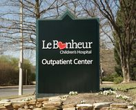 LeBonheur Children's Hospital Royalty Free Stock Images
