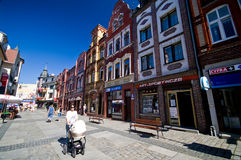 Lebork, city of Poland Royalty Free Stock Image