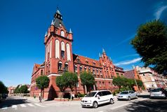 Lebork, Poland State of Public and Social offices Stock Image