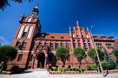Lebork, Pologne image libre de droits