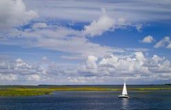 Lebsko Lake Royalty Free Stock Photo