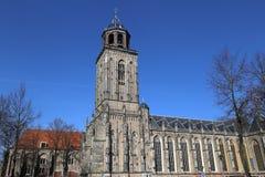 Lebuinuskerk in Deventer, Olanda Fotografia Stock