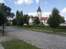 Lebus-Breite-Str-Kirche Stock Photos