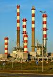 Leca da Palmeira Refinery in Matosinhos stock images