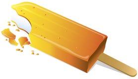 Lecca lecca arancione illustrazione vettoriale