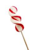 Lecca-lecca del bastoncino di zucchero Fotografia Stock Libera da Diritti