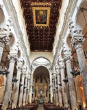 Lecce大教堂 免版税库存图片