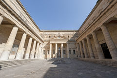 Lecce (Apulia, Italy): The Carducci square Royalty Free Stock Photos
