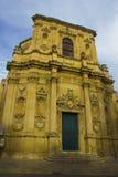 Lecce, baroque church. Chiesa di Santa Chiara Royalty Free Stock Photography