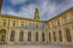 Lecce: the bell tower. The bell tower of Lecce seen from the convent of Theatines Stock Photography