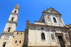 Lecce Cathedral Royalty Free Stock Photos