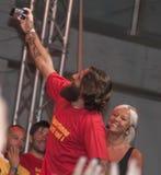Lecce de joueur de moscadrelli de davide de Selfie Photographie stock libre de droits