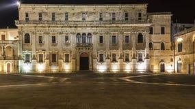 Lecce durch der Nacht-Vatikan-Museum Lizenzfreies Stockbild