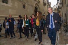 Lecce européen 2019 de commissione d'iceberg d'Arien Photo libre de droits