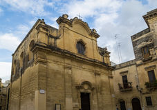 Lecce greek orthodox church, Royalty Free Stock Photography