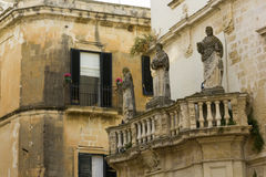 Lecce, holy statues Stock Photography