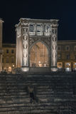 Lecce, Italie - palais de Sedile sur Lecce en Puglia, Italie Photo stock