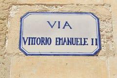 Lecce, Italien stockbilder