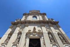 Baroque Lecce. Lecce, Italy. Baroque church - Saint Mary of Providence (Santa Maria della Providenzia royalty free stock images