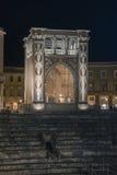 Lecce, Italy -  Sedile Palace on Lecce in Puglia, Italy Stock Photo