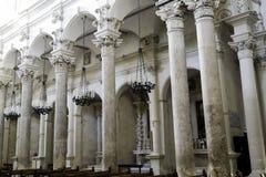Lecce kyrka Arkivfoton