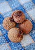 Lecce or lychee fruit. stock image