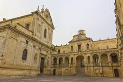 Lecce, Piazza Duomo Stock Photo