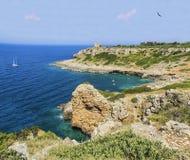 Lecce porto selvaggio Arkivbilder