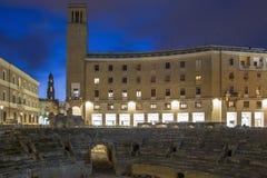 Lecce, Puglia, Itália fotografia de stock