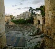 Lecce roman arena amphitheather Stock Photos